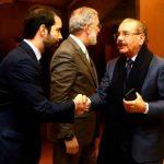 Video | Presidente Medina llega a Madrid para participar en la Cumbre del Clima