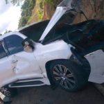 Pelotero Michael Ynoa sufre accidente en carretera Navarrete-Puerto Plata