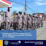 El director General de nuestra Policía Nacional, mayor general Edward Ramón Sánchez González, dispuso el reforzamiento de la dotación del cuerpo del orden en San Cristóbal